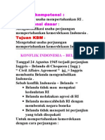 8. Konflik Indonesia - Belanda