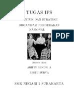 Bentuk Dan Strategi