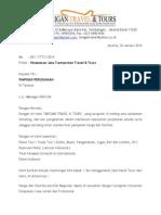 Surat Penawaran Tour Dan Travel