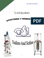 Catalogo de Bioreactores