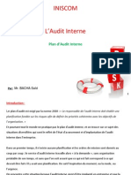 Plan D_Audit Interne