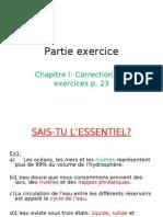 5EME PHYSIQUE CHAPITRE I CORRIGE EX P23