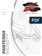 PANTERRA 50cc Street Scooter Service Manual