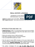 Bank Relationships and REIT Capital Structure