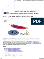 Instalar Apache+PHP+MySQL no Windows 7_Vista_XP » Pinceladas da Web - HTML5 Hard Coding and Bullet Proof CSS