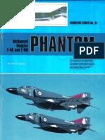 (Warpaint Series No.31) McDonnell Douglas F-4K and F-4M Phantom