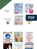 Pamflet Panduan Cuci Tangan