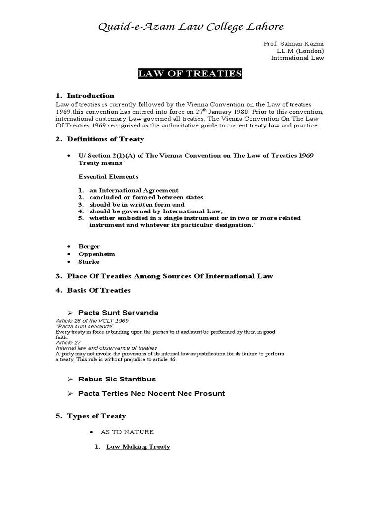 Treaties | Treaty (19 views)