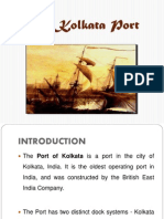 The Kolkata Port