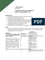 MBA MPM36B Compensation Management