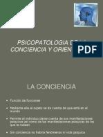 Psicopatologia de La Conciencia y La Atencion