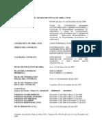 Acta de Recibo Final de Obra Civil