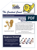 Grand Ledge High School Newsletter March 2014