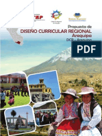 Propuesta de Diseno Curricular Regional Arequipa