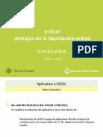 Presentación e-SICOL para CPCECABA