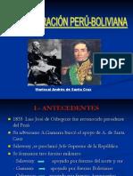 confederación peruboliviana
