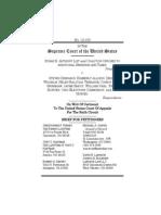 SBA and COASTv. Driehaus, Et Al Petitioner's Brief