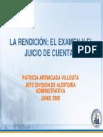 La Rendición; el examen y el Juicio de Cuentas