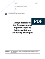 Design Methods Forthe Reinforcement of Highway Slopes by Reinforced Soil and Soil Nailing Techniques