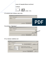 Como Usar El Comando Buscar en Excel