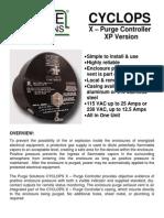 CYCLOPS X - Purge Controller Brochure XP