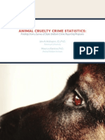 AnimAl Cruelty Crime StAt iSt iC S: