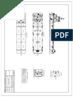 General Arrangement 350 KL Self Propelled Oil Barge