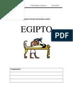 proyecto investigacion egipto