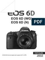 EOS 6D Instruction Manual PT