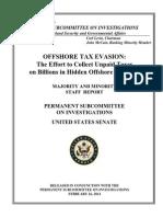 CS Tax Evasion Report