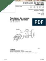 Manual de Diagnostico en Regulador de Escape de Camiones Volvo
