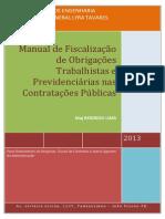 Manual de Fisc Obg Trabalhistas e Previd Nas Contrat Pub