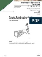 Manual de Averias en Presion de Sobrealimentacion en Camiones Volvo