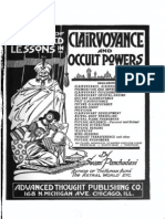 A Course of Advanced Lessons in Clairvoyance
