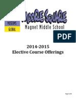 moore square elective catalog 2014-2015