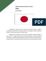 EXPORTAÇÃO DE CAMISAS ESPORTIVAS PARA O JAPÃO