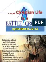 Christian Life is a Battleground