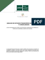 Curso Analisis de Estados Financieros Individuales y Consolidados