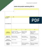 Grille d Evaluation Projet Marketing ESC3 Painbeni