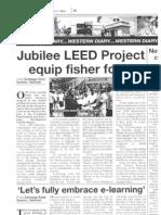 Jubilee LEED Media Coverage