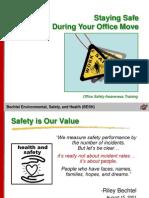 Bechtel Safe Office Move
