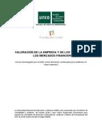 Valoracion de la empresa y de los titulos en los mercados financieros.pdf