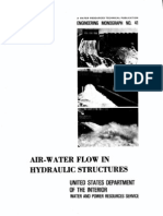 Air Water Flow in Hydraulics Structures - EM41