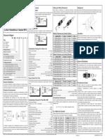Manual de Instalação Sensores Foto Elétricos