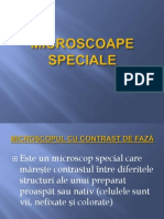 Microscoapele Speciale