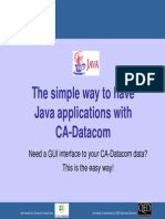 5. Using Java to Access CA-Datacom