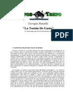 Bataille, George - La Nocion de Gasto