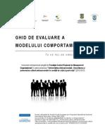 Ghid Evaluarea Modelului Comportamental