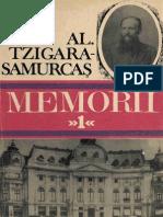 Al Tzigara Samurcas Memorii 1