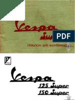 Vespa VBC1T.vnc1T.manual